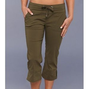 Prana Bliss Capri in Cargo Green